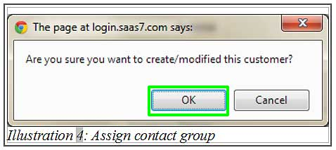 BMO inventory assign contact group 4