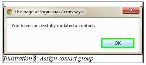 BMO inventory assign contact group 5