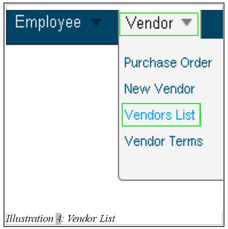 BMO inventory create edit delete vendor 4