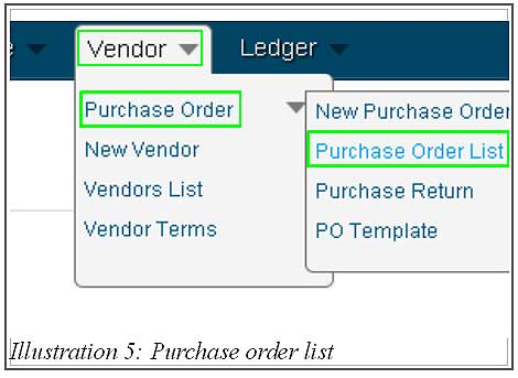 BMO inventory create purchase order 5