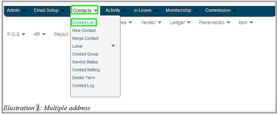 BMO inventory multiple address 1