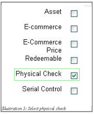 BMO inventory physical control 3