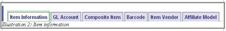 BMO inventory serial control 2