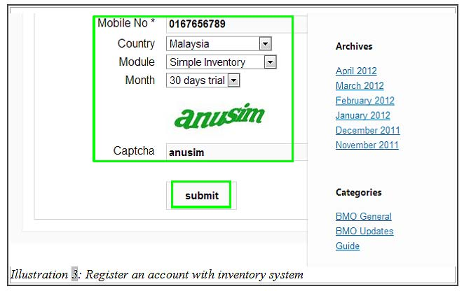Crm Register Account 3