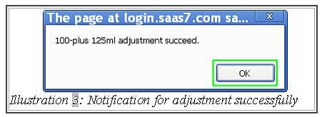 BMO Inventory Adjustment Item 3