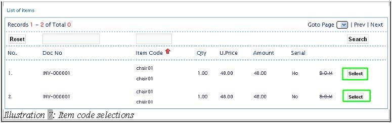 BMO inventory create new stock adjustment 8