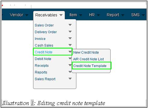 BMO inventory editting credit note template 1