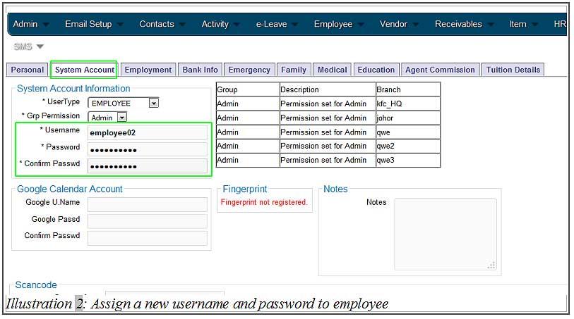 BMO inventory employee login 2