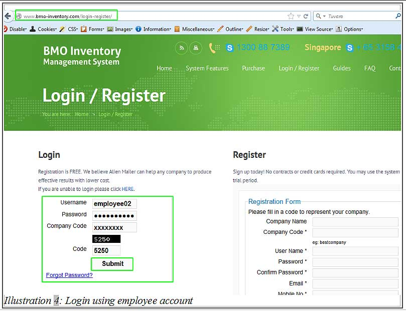BMO inventory employee login 4