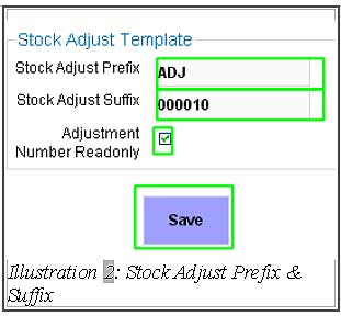 BMO inventory stock adjust template 2